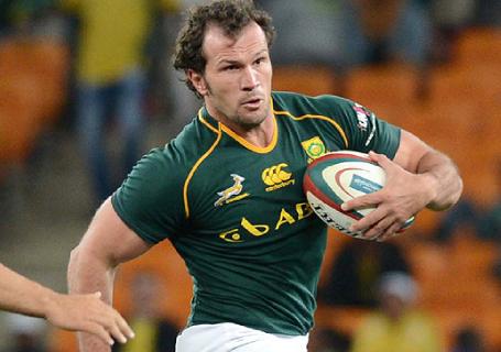 Bismarck Du Plessis - Springbok Rugby player and Sharks captain