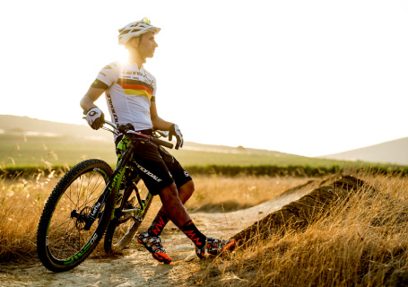 Manuel Fumic - German and World Mountain Biking Champion