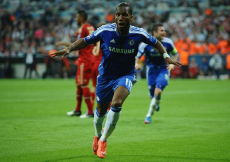 Didier Drogba - Chelsea Football Club legend and Ivory Coast captain