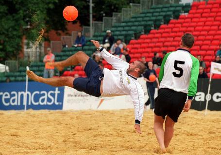 Pro Beach Soccer Tournament - Eric Cantona