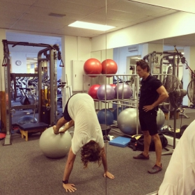 Braam working with Jordy Smith - Professional Surfer
