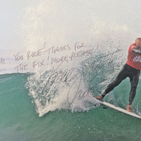 Kelly Slater - Braam Rules - Thanks for the fix.